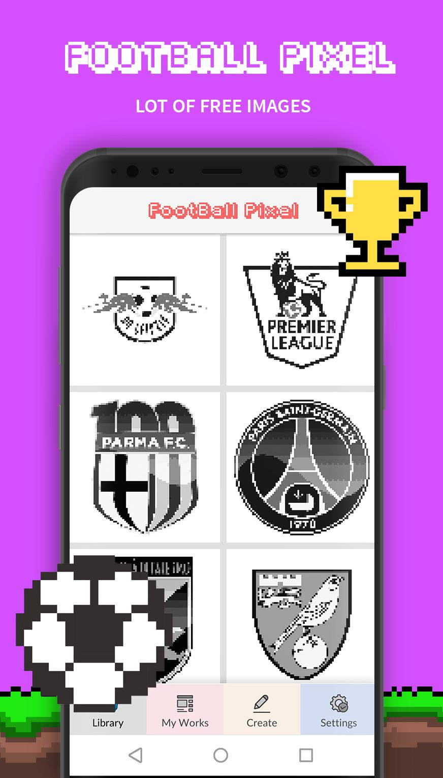 Football Pixel Art For Android Apk Download