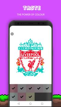 Football Pixel Art screenshot 1