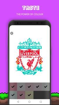 Football Pixel Art screenshot 5