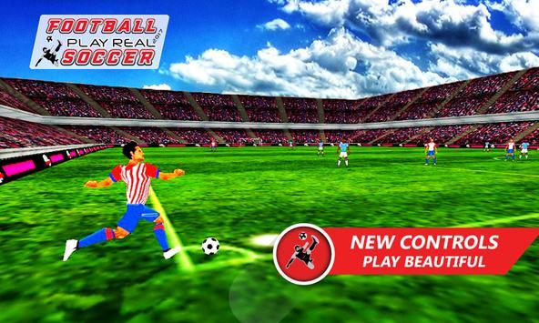 Football Play Real Soccer 2018 screenshot 9