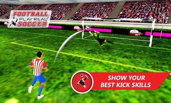 Football Play Real Soccer 2018 screenshot 2