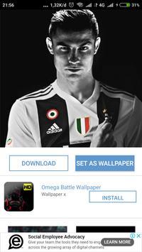 Ronaldo Wallpaper HD screenshot 1