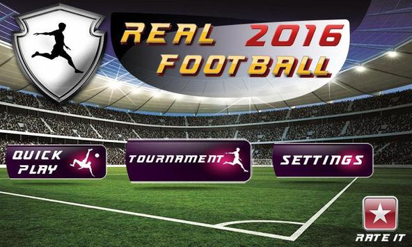 Play Real Football 2016 poster