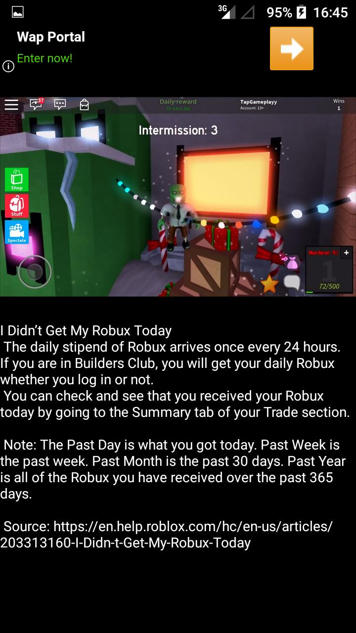 How To Get Robux For Android Apk Download