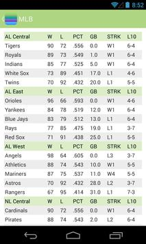 Sports Standings for Android - APK Download
