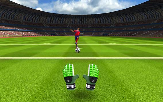 Football Goalkeeper 2016 HD screenshot 1