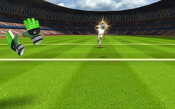 Football Goalkeeper 2016 HD screenshot 2