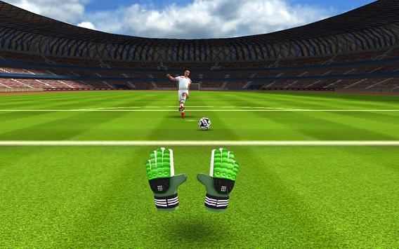 Football Goalkeeper 2016 HD apk screenshot