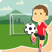soccer games for kids for free icon