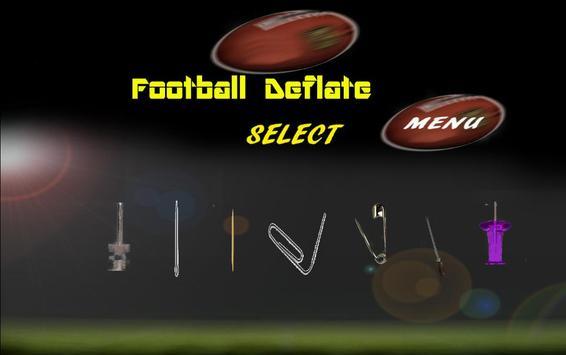 Football Deflate poster