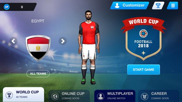 Free Kick Football 2018 screenshot 1