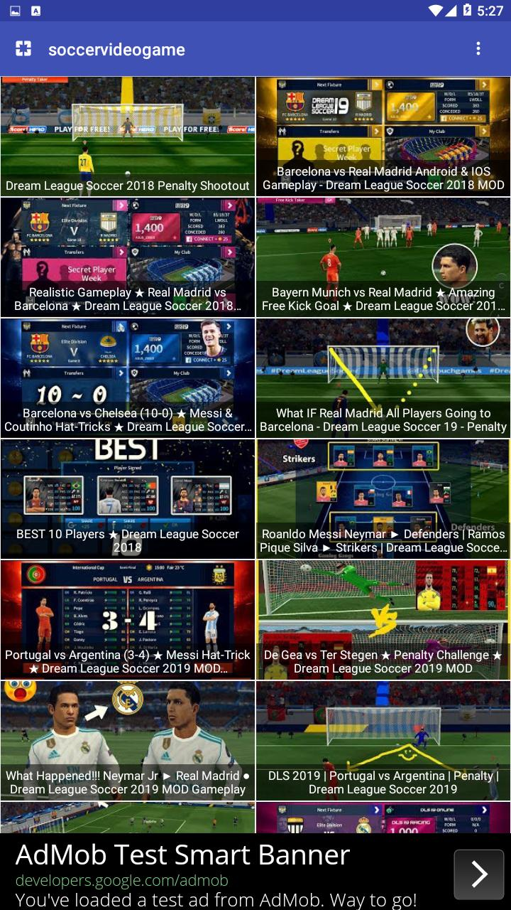 Soccer 2019 - DREAM LEAGUE Video Games for Android - APK