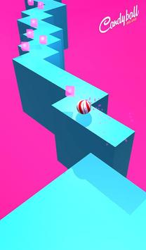 Zig Zag Candy Ball poster