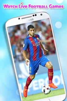 Poster Live Football TV HD Streaming