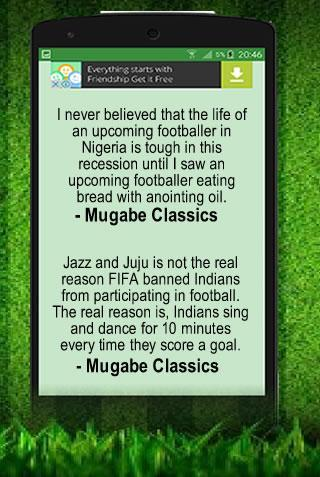 Funny football quotes and jokes für Android - APK herunterladen