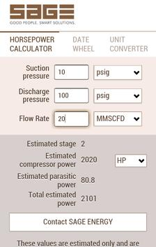 HP Calculator by Sage Energy poster