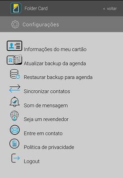 Folder  Card screenshot 2