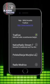 Radio Folk Free screenshot 1