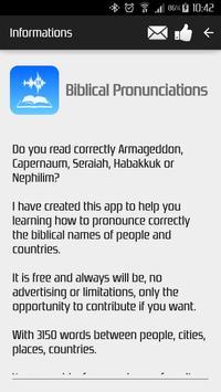 Biblical Pronunciations screenshot 4