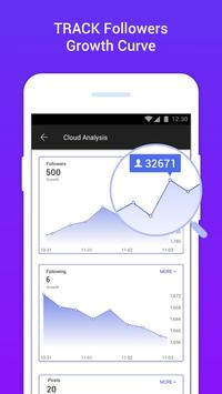 Followers Insights-Follower Analytic for Instagram poster