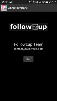 Followzup - BG Messenger apk screenshot
