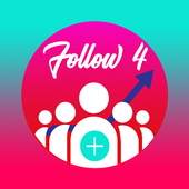 Likes and followers - Follow 4 icon