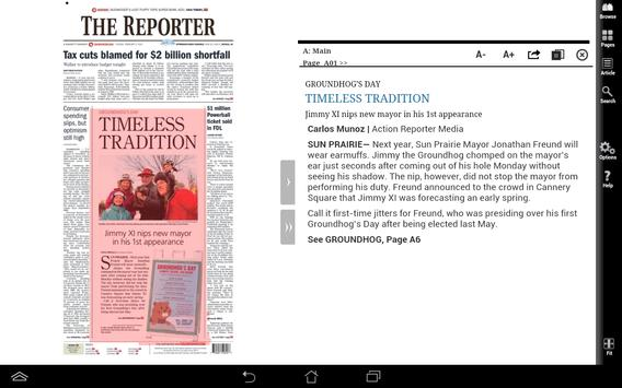 FDL Reporter Print Edition apk screenshot