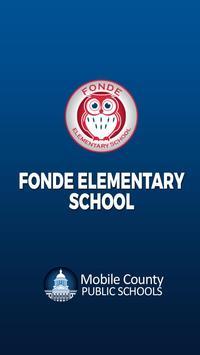 Fonde Elementary School poster