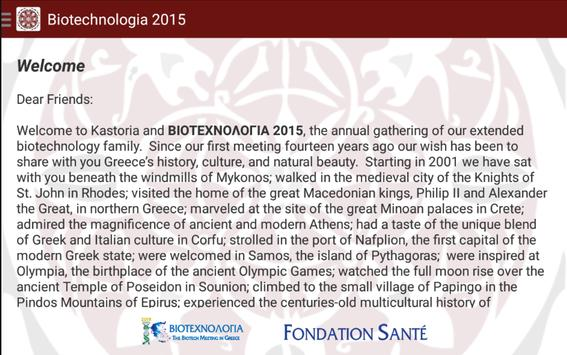Biotechnologia 2015 apk screenshot