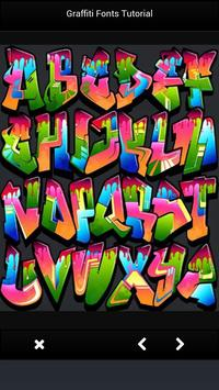 Graffiti Fonts Tutorial Newest screenshot 2