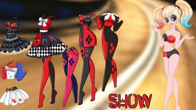 Dress Up Harley Quinn Punk New apk screenshot