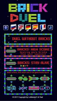 Brick Duel for two players poster