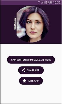 Skin Whitening Miracle screenshot 3