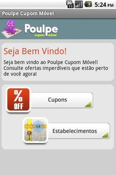 Poulpe Mobile Coupon screenshot 1