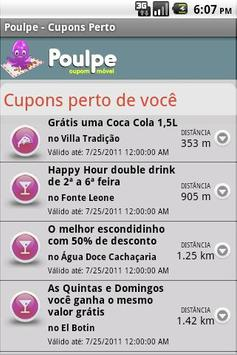 Poulpe Mobile Coupon screenshot 2