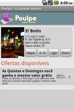 Poulpe Mobile Coupon screenshot 3