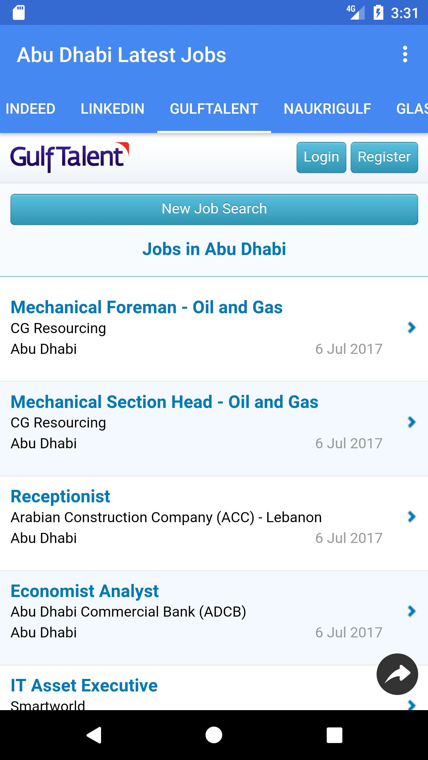 🇦🇪Jobs in Abu Dhabi - UAE🇦🇪 for Android - APK Download