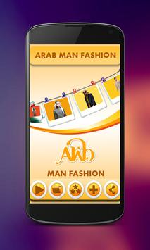 Arab Man Fashion poster