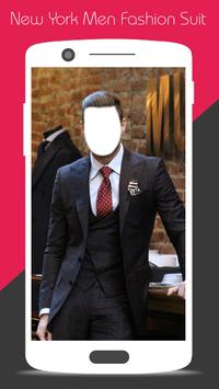 New York Men Fashion Suit poster