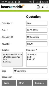 Invoice Pro from FoM screenshot 4