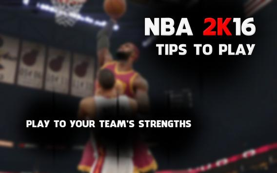 Guide for NBA 2k16 poster