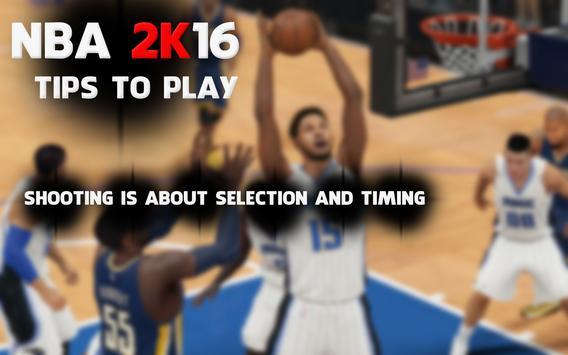 Guide for NBA 2k16 screenshot 2