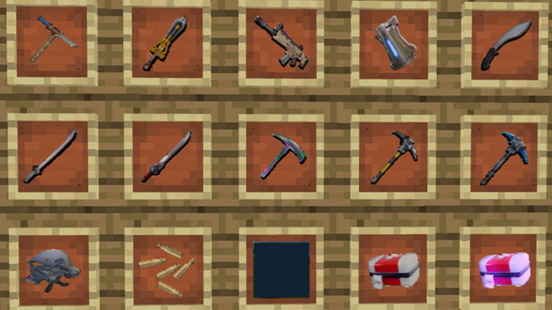 Fortnite Textures Download Fortnite Mod Battle Royale For Minecraft Pe For Android Apk Download