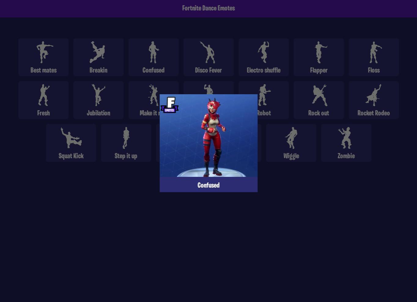 Fortnite Eagle Emote Dance Emotes For Fortnite For Android Apk Download