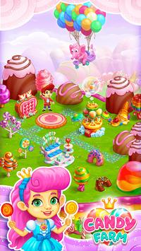 Sweet Candy Farm: Granja con Magia y Dulces Gratis Poster