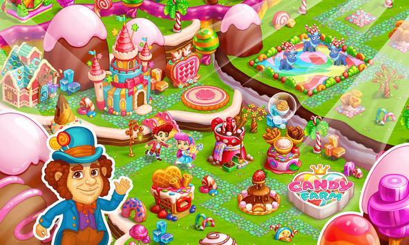 Sweet Candy Farm: Granja con Magia y Dulces Gratis captura de pantalla 14