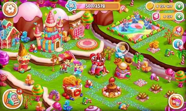Sweet Candy Farm: Granja con Magia y Dulces Gratis captura de pantalla 15