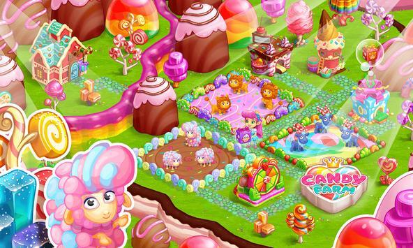 Sweet Candy Farm: Granja con Magia y Dulces Gratis captura de pantalla 13