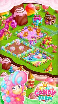 Sweet Candy Farm: Granja con Magia y Dulces Gratis captura de pantalla 1