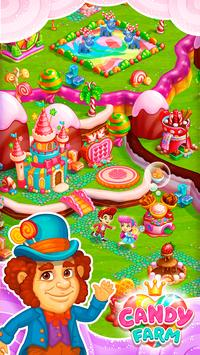 Sweet Candy Farm: Granja con Magia y Dulces Gratis captura de pantalla 2